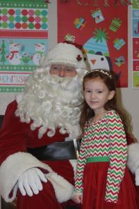 Santa Claus visits Winthrop December 13