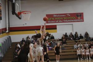 Girls Basketball vs New Ulm Cathedral January 21