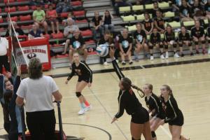 Volleyball vs Cedar Mountain September 19